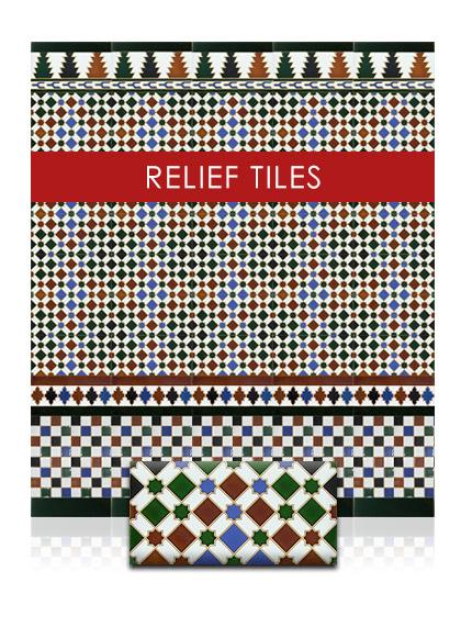 Relief tiles configurator